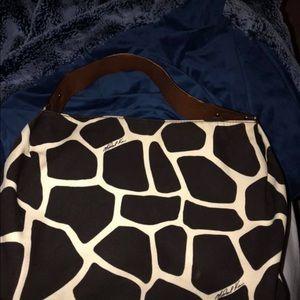 Micheal Kors giraffe print handbag